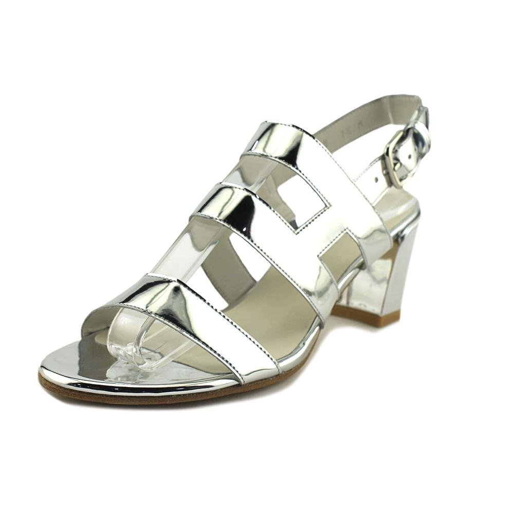 Stuart Weitzman Milanese Women US 7.5 Silver Sandals