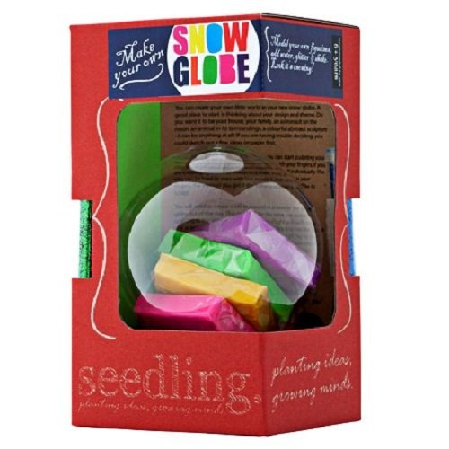 Seedling Make Your Own Snow Globe Activity Kit