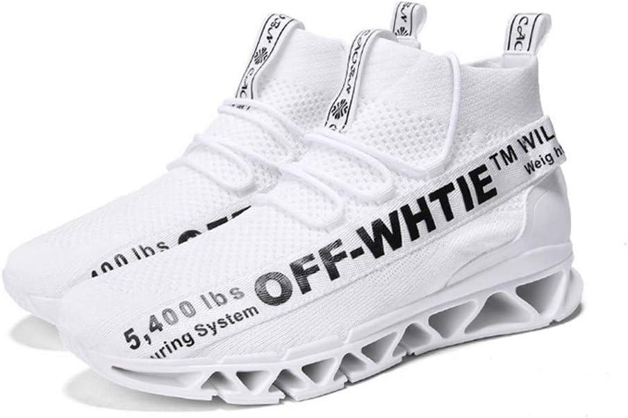 OPQZ Running Shoes Winter Mens Shoes, Socks, Shoes, Mens Casual Sports Shoes, Warm Running Shoes, Hip Hop Shoes, Wild,A,41: Amazon.es: Deportes y aire libre