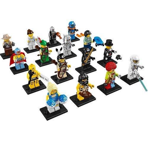 Lego 8683 Minifigures Series 1 - Complete Set of 16 (Lego Series 1 Set)