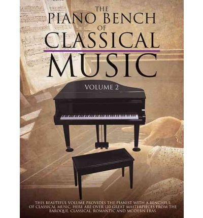 [(The Piano Bench of Classical Music, Volume 2 )] [Author: Amsco Publications] ()