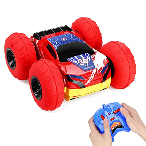 Rc Cars Stunt Car Toy  Betheaces 4Wd 2 4Ghz Remote Control Car Double Sided Rotating Vehicles 360 Degree Flips  Kids Toy Cars For Boys Girls Birthday Christmas Gift