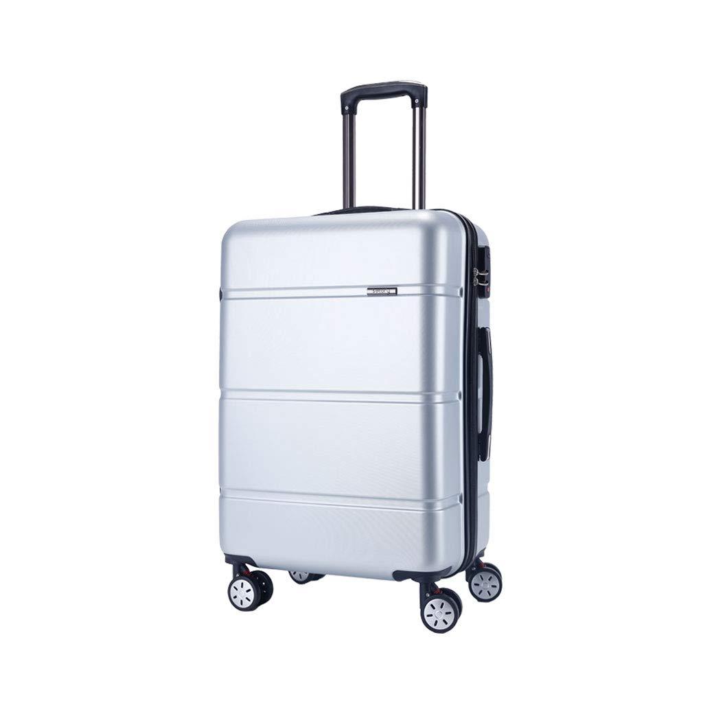 4ホイール荷物Absハードシェルトロリーハンドスーツケースハードキャビントラベルケース - 伸縮ハンドルはあらゆる方向に動きます  6# B07MF11T81