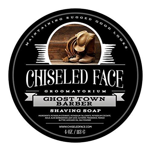 - Ghost Town Barber - Handmade Luxury Shaving Soap from Chiseled Face Groomatorium
