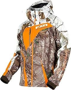 Amazon.com: FXR Recoil Soft shell Hoodie Jacket ~ Realtree