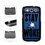 BleuReign(TM) Stay Woke Plastic Phone Case Back Cover For Samsung Galaxy S3 I9300