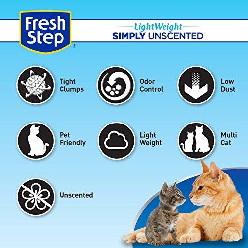 Fresh-Step-Lightweight-Multi-Cat-Clumping-Cat-Litter-Unscented-154-Pounds