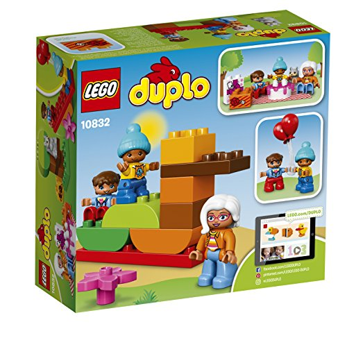 51AT trKC2L - LEGO DUPLO My Town Birthday Party 10832, Preschool, Pre-Kindergarten Large Building Block Toys for Toddlers