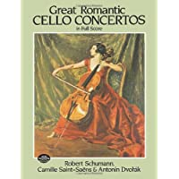 GRT ROMANTIC CELLO CONCERTOS I (Dover Music Scores)
