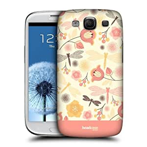 TopFshion Designs Lemon Chiffon Dragonflies Protective Snap-on Hard Back Case Cover for Samsung Galaxy S3 III I9300