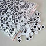 100pcs Sew-on Craft Sew Wiggle/googly Eyes Doll Animal Puppet Optional (20mm)