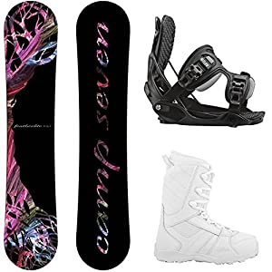 Flow Camp Seven Featherlite and Women's Complete Snowboard Package 2019