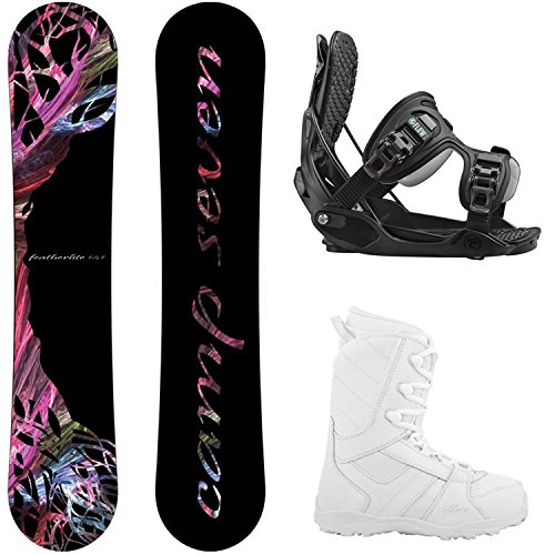 Camp Seven Featherlite and Flow Women's Complete Snowboard Package 2018