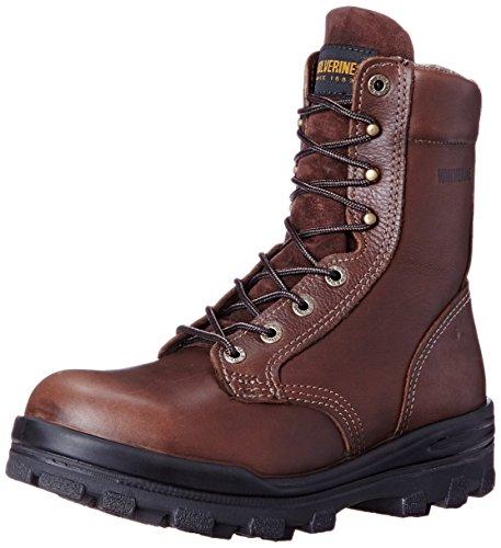 Leather Durashocks (Wolverine Men's W03176 Durashock Boot, Brown, 14 M US)