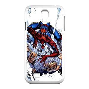 Spider Man Comic Samsung Galaxy S4 90 Cell Phone Case White Customized Toy pxf005_9707323