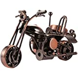 Hindom Craft Retro Style Handmade Metal Motorcycle Model Collection Gift (Type-3)