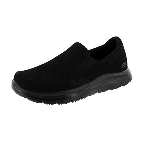 Skechers Shoes Flex Mcallen Work Sr Black Advantage 77048ec 8OvnmPyN0w