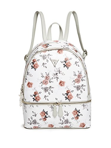 GUESS Factory Women's Celesta Plaid Slim Backpack - Print Backpack Handbags