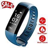 Smart Watch, Fitness Tracker, READ R5.MAX Heart Rate Monitor Blood Pressure Bracelet Pedometer