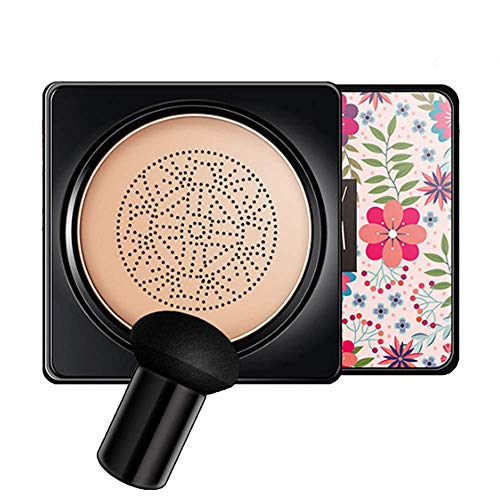 Premium Mushroom Head Air Cushion CC Creme, Air Cushion Whitening Concealer Make-Up Nude Foundation Natural Full Coverage Concealer, Frauengesichts Make-up Hautpflege (A)