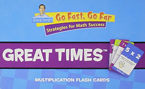 Houghton Mifflin Harcourt Mathematics Greg Tang's: Flash Cards, Great Times Intermediate