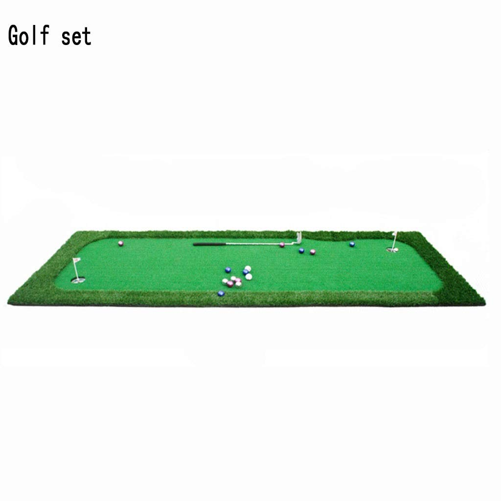 ゴルフパッティンググリーンシステムプロフェッショナル練習グリーン(フラグと取り外し可能なベースゲーム付き、そして家庭用、オフィス用、屋外用)