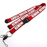 remove before flight lanyard - Remove Before Flight Lanyard - with Detachable Safety Buckle by Rotary13B1