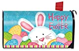 Briarwood Lane Bunny and Eggs Easter Magnetic Mailbox Cover Holiday Easter Bunny