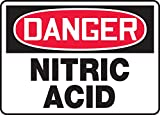 NITRIC ACID Sign, 10