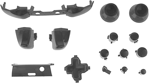 Amazon.es: Botones de Disparo de Parachoques D-Pad LB RB LT RT para Xbox One Slim Controller - Negro