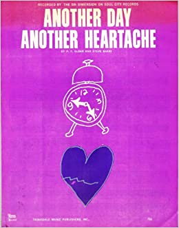 Another Day Another Heartache Sheet Music: P F  Sloan and