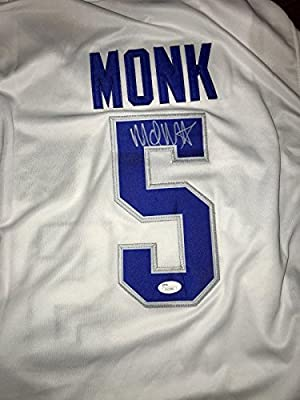 Malik Monk Autographed Jersey - autgraphed University Of Kentucky - JSA Certified - Autographed College Jerseys