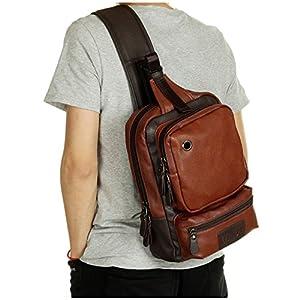 Sling Backpack Crossbody Bag Shoulder Messenger Bags Chest Pack Daypack for Men