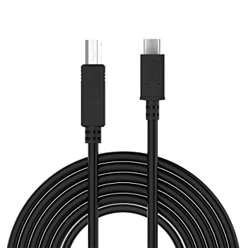Adaptador de Cable USB Cable de Impresora Macho Tipo C a USB 2.0 B ...