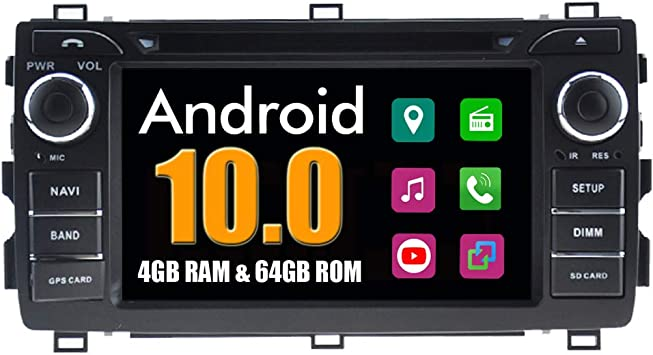Roverone Android System Autoradio Für Toyota Auris 2013 Elektronik