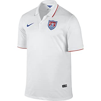 Nike USA Home Stadium Jersey World Cup 2014 [Football White] (XL)