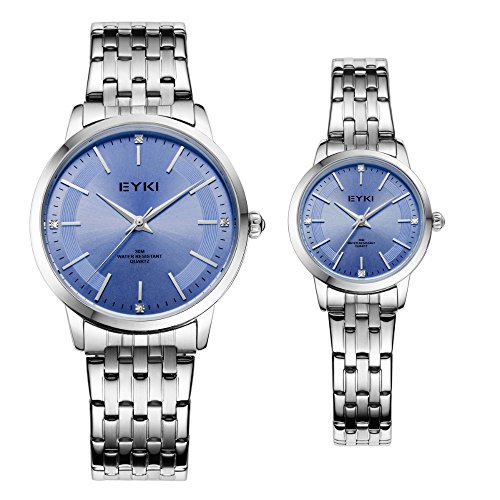 - TIDOO Pair of Couple Quartz Wrist Watch Ultrathin Full Steel Lovers Watches Fashion Waterproof Men Women Wristwatches relogio