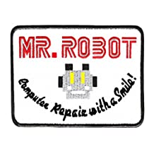 FSOCIETY Mr Robot Shirt Patch 4 inch x 3 inch - Cool Patches - Iron On - Funny - Parody