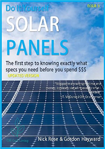 Amazon do it yourself solar panels the first step to knowing do it yourself solar panels the first step to knowing exactly what specifications you need solutioingenieria Choice Image