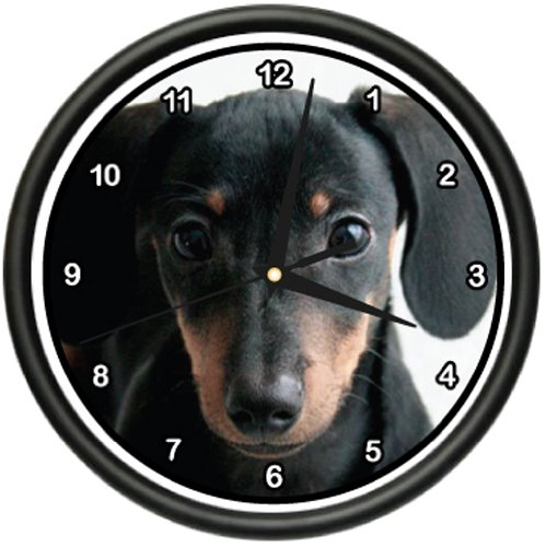 DACHSHUND Wall Clock dog pet dogs miniature mini ()