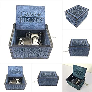 Embernation Game of Thrones Hand Engraved Title Track Theme Musical Box with Winder Home Décor Accents at amazon