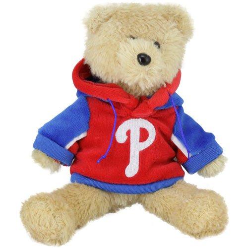 (MLB Philadelphia Phillies 8'' Plush Hoodie Bear -)