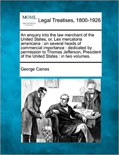 Amazon com: An enquiry into the law merchant of the United
