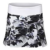Lija-Women`s Topspin Tennis Skort Ultraviolet Water Camo Print-(690309591417)