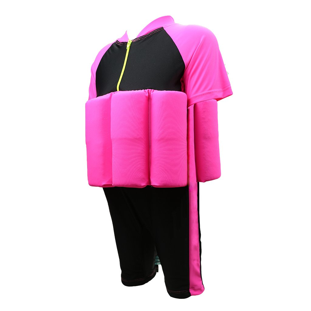 Hony Boy Girl Float Buoyancy Swimsuit One Piece Swimwear Training AIDS Learn to Swim