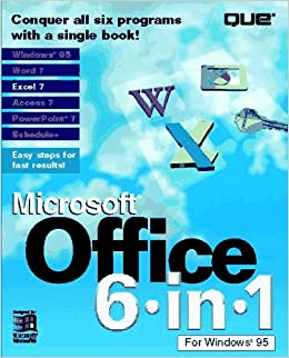 Buy Microsoft Office 6 in 1 for Windows 95 Book Online at Low Prices