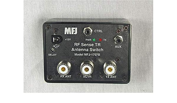 HAMRADIOSHOP mfj-1707 B conmutador de Antena RX-TX automática ...