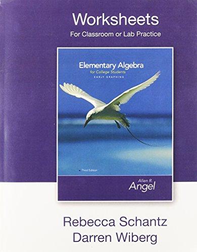 Algebra 1 Worksheets: Amazon.com