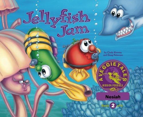 Read Online Jellyfish Jam - VeggieTales Mission Possible Adventure Series #2: Personalized for Nesiah (Girl) c0614 PDF