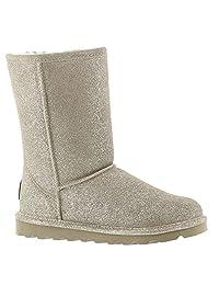 Bearpaw Classic Elle Short Pewter Boot